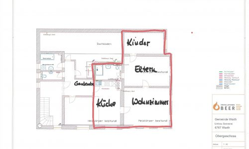 Skizze Wohnung